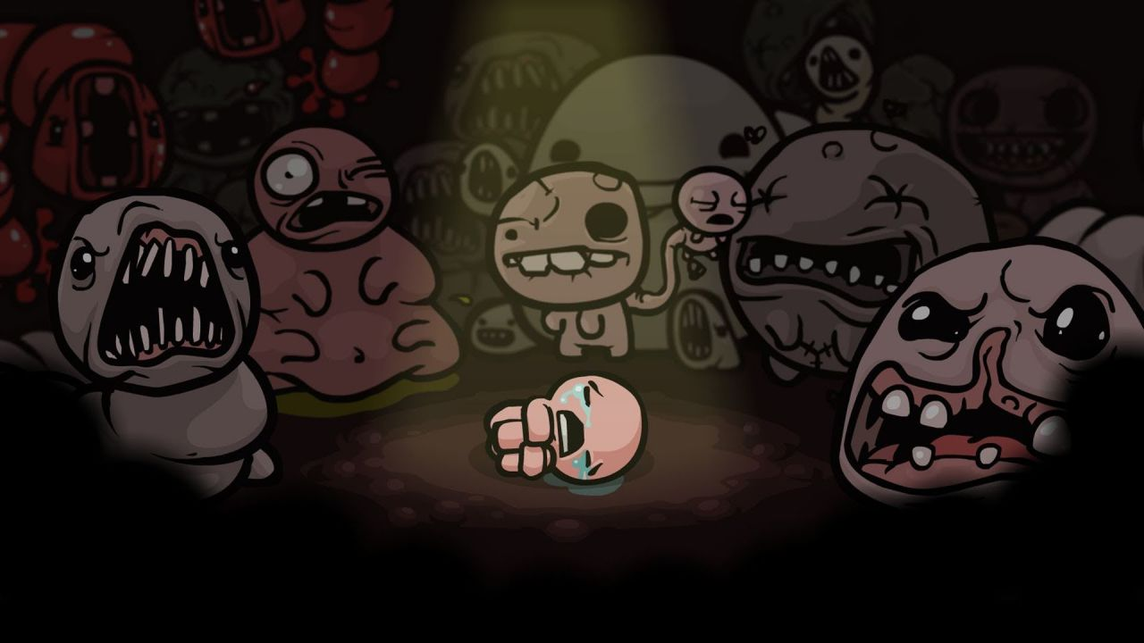 The Binding of Isaac Rebirth in azione su New 3DS