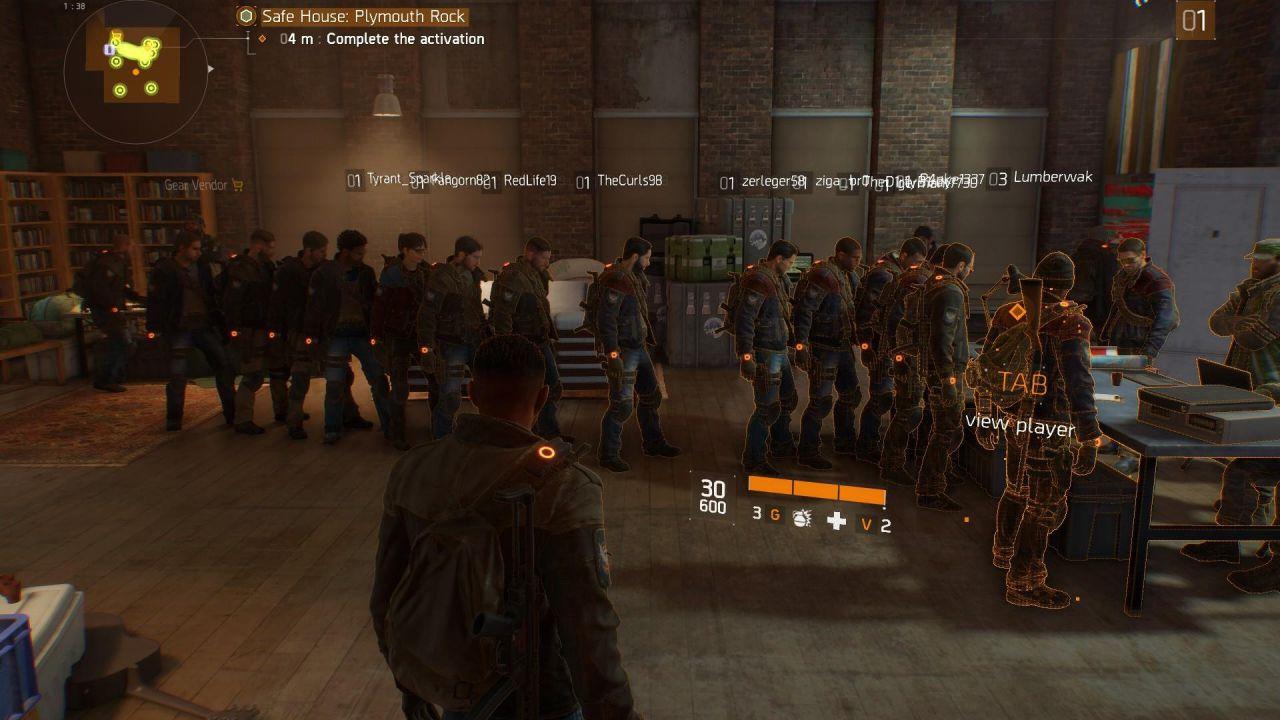 The Division: Gli utenti si mettono in coda per poter giocare