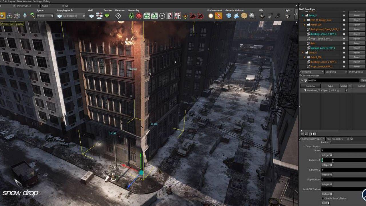 The Division: immagini dallo Snowdrop Engine