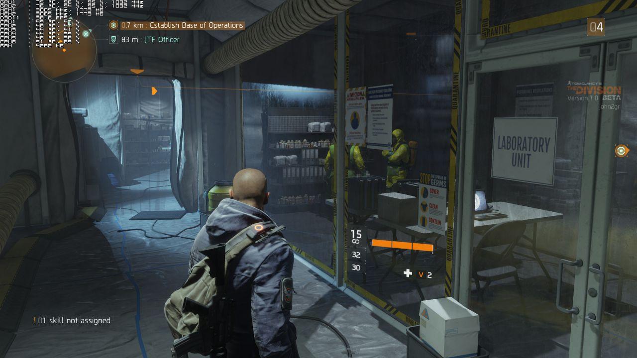 The Division: la nuova patch bilancia le armi