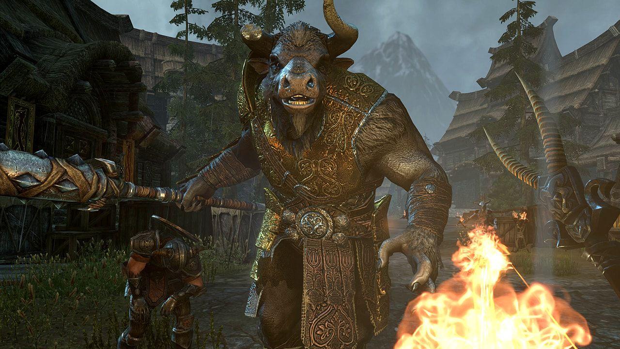 The Elder Scrolls Vita : The elder scrolls online horns of rach è ora