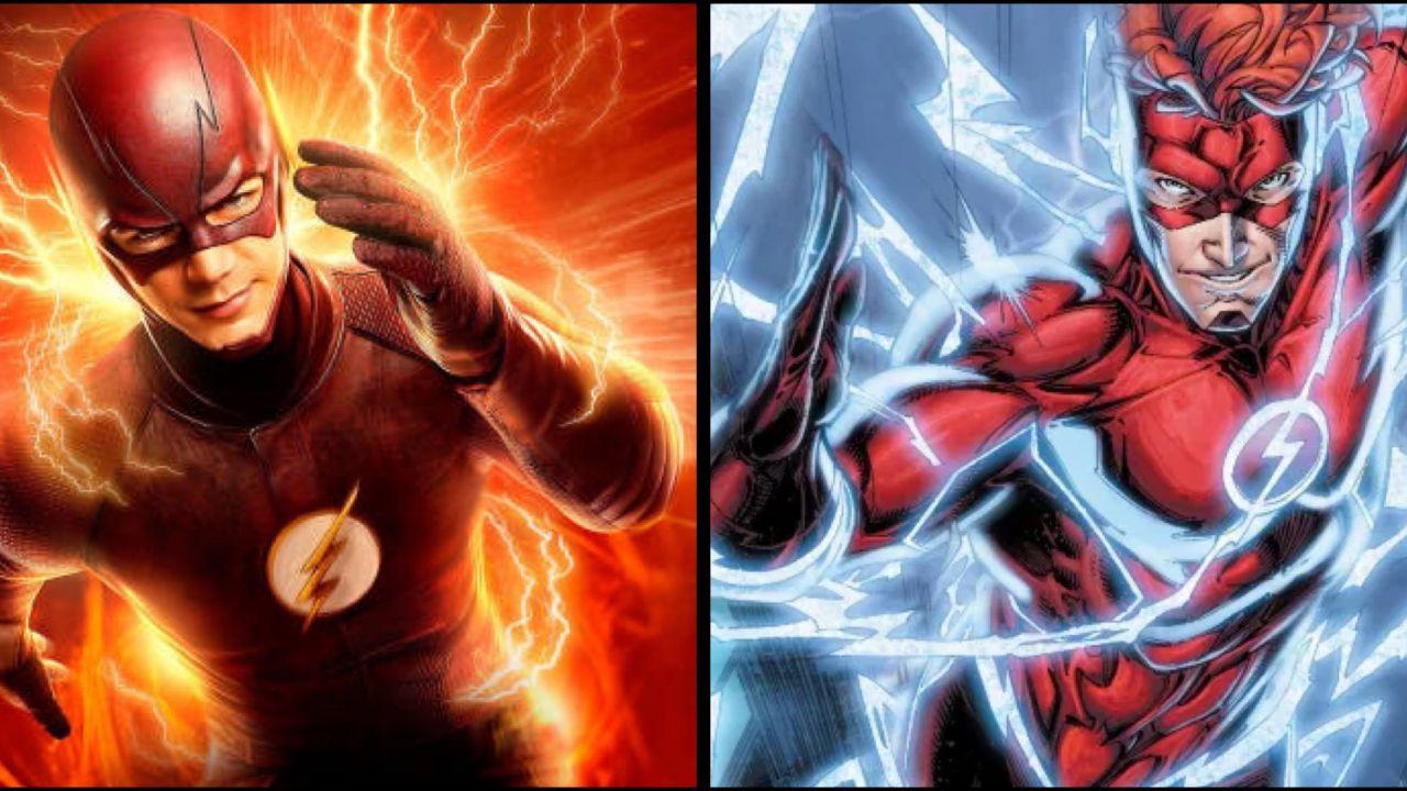 The Flash, una fanart immagina Grant Gustin come Wally West