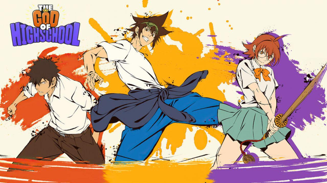 The God of High School: lo stile dei combattimento dei tre protagonisti, spiegato bene