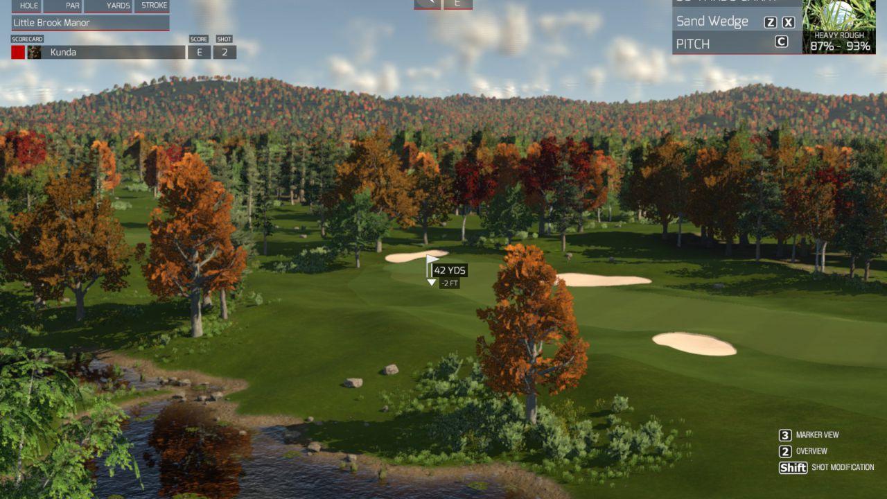The Golf Club disponibile su Steam accesso anticipato