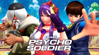 The King of Fighter XIV: Trailer per lo 'Psycho Soldier Team'