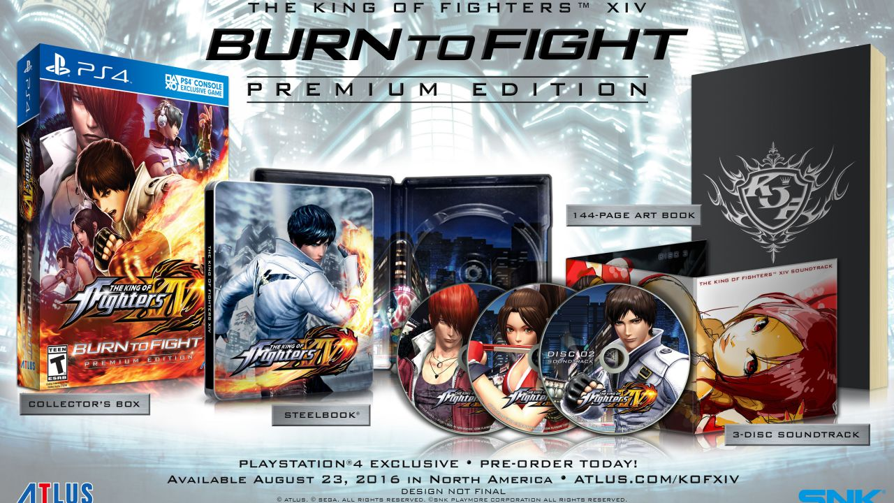 The King of Fighters 14: annunciata la Burn to Fight Edition