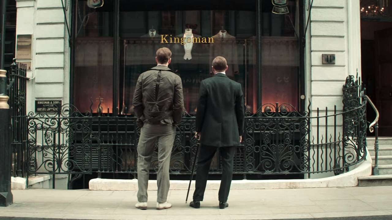 The King's Man - Le origini, Ralph Fiennes nel poster italiano del film di Matthew Vaughn