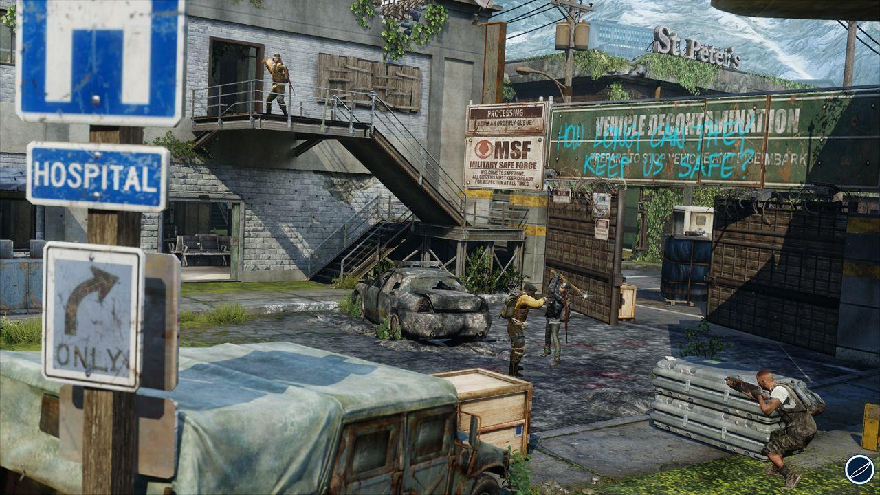The Last of Us Remastered: un'immagine mostra il gioco in azione su PlayStation Vita