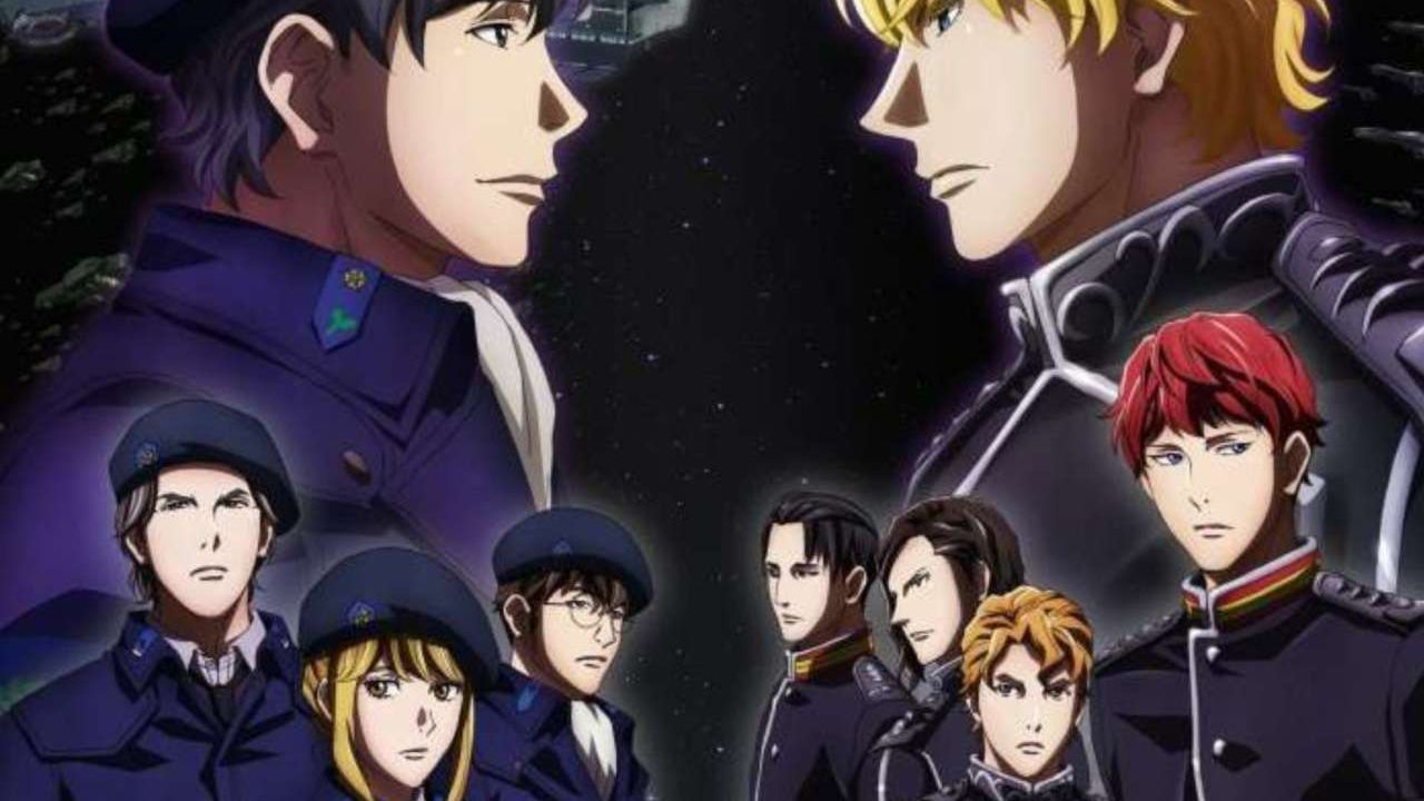 The Legend of the Galactic Heroes sarà distribuita da Crunchyroll, a settembre la premiere