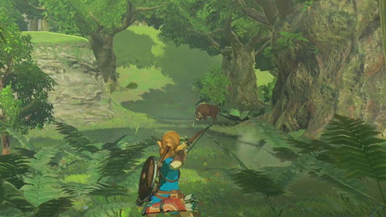 The Legend of Zelda Breath of the Wild: 40 minuti di gameplay