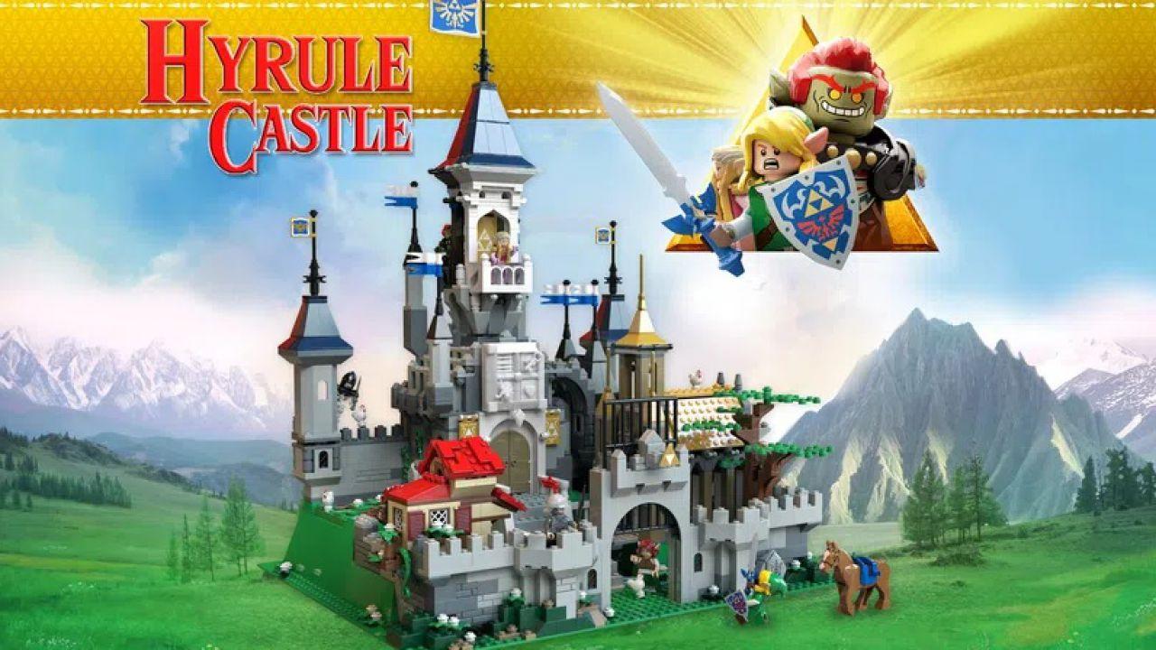 The Legend of Zelda in LEGO: il set del castello di Hyrule immaginato dai fan!