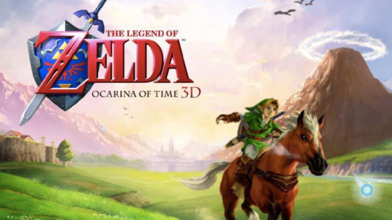 The Legend of Zelda Ocarina of Time finito in 18 minuti