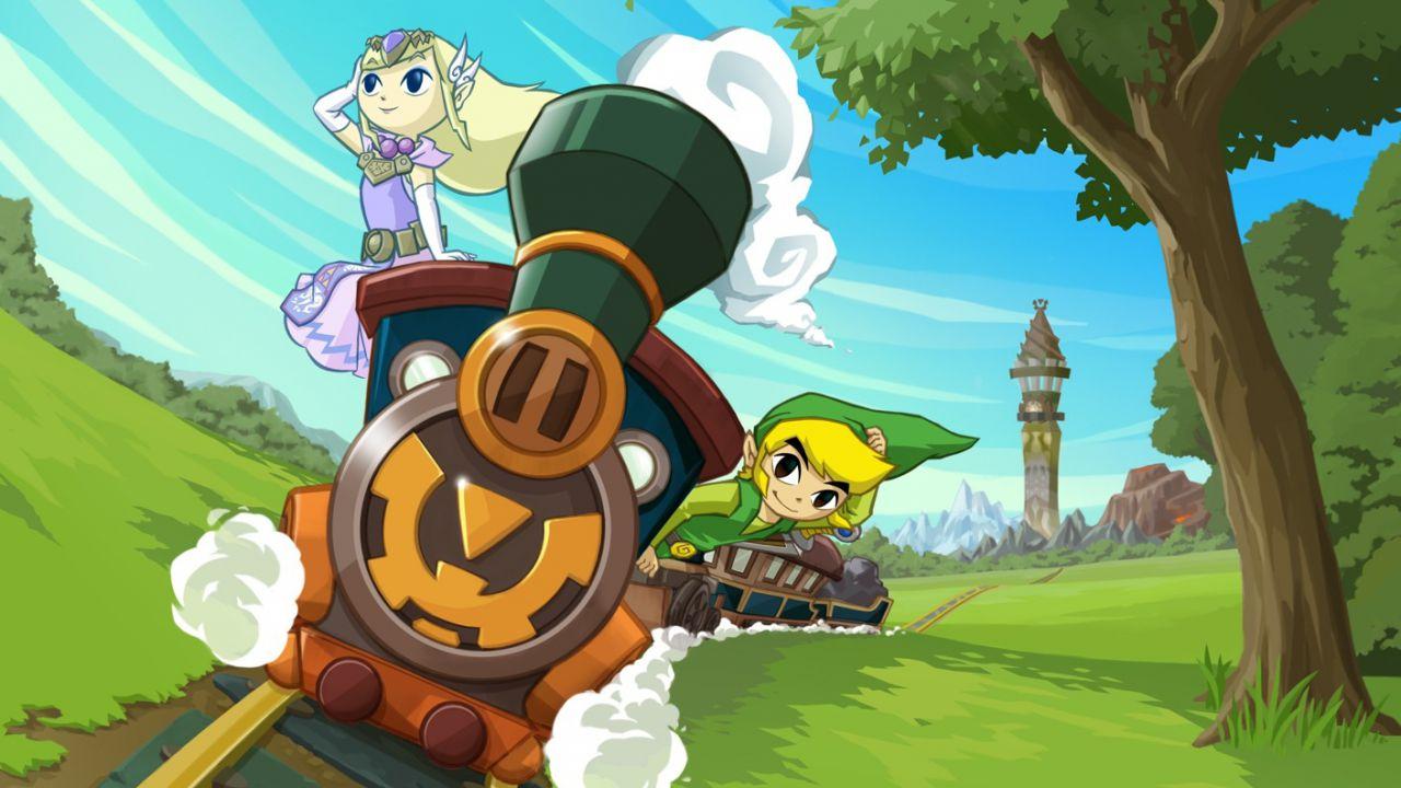 The Legend of Zelda Phantom Hourglass e  Spirit Tracks disponibili sulla Virtual Console Wii U