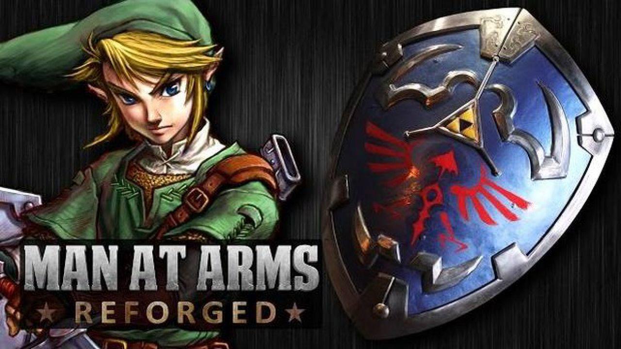 The Legend of Zelda: lo scudo di Link ricreato nella realtà