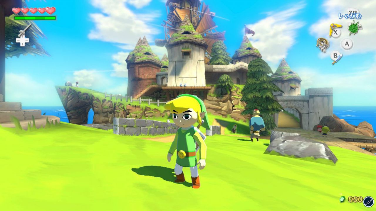 The Legend of Zelda: The Wild Waker HD - aperto il teaser site europeo