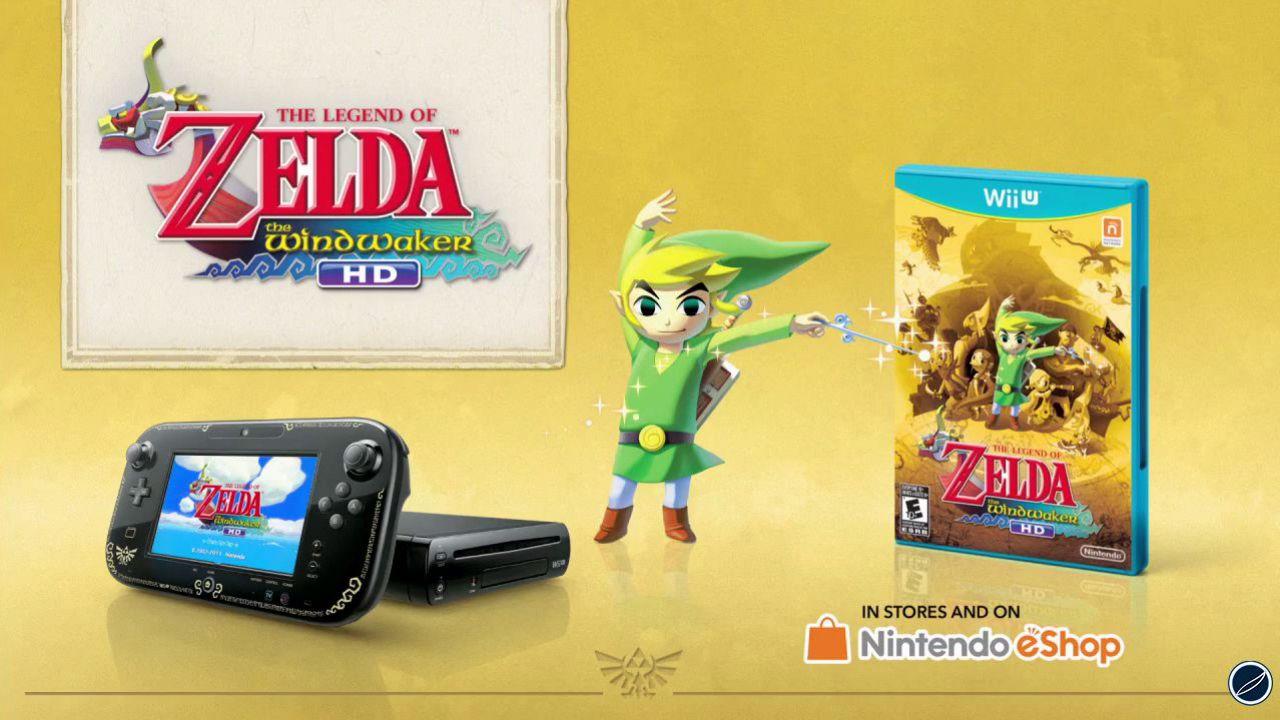 The Legend of Zelda: The Wind Waker HD - confermato il bundle con Wii U e gioco in versione digitale