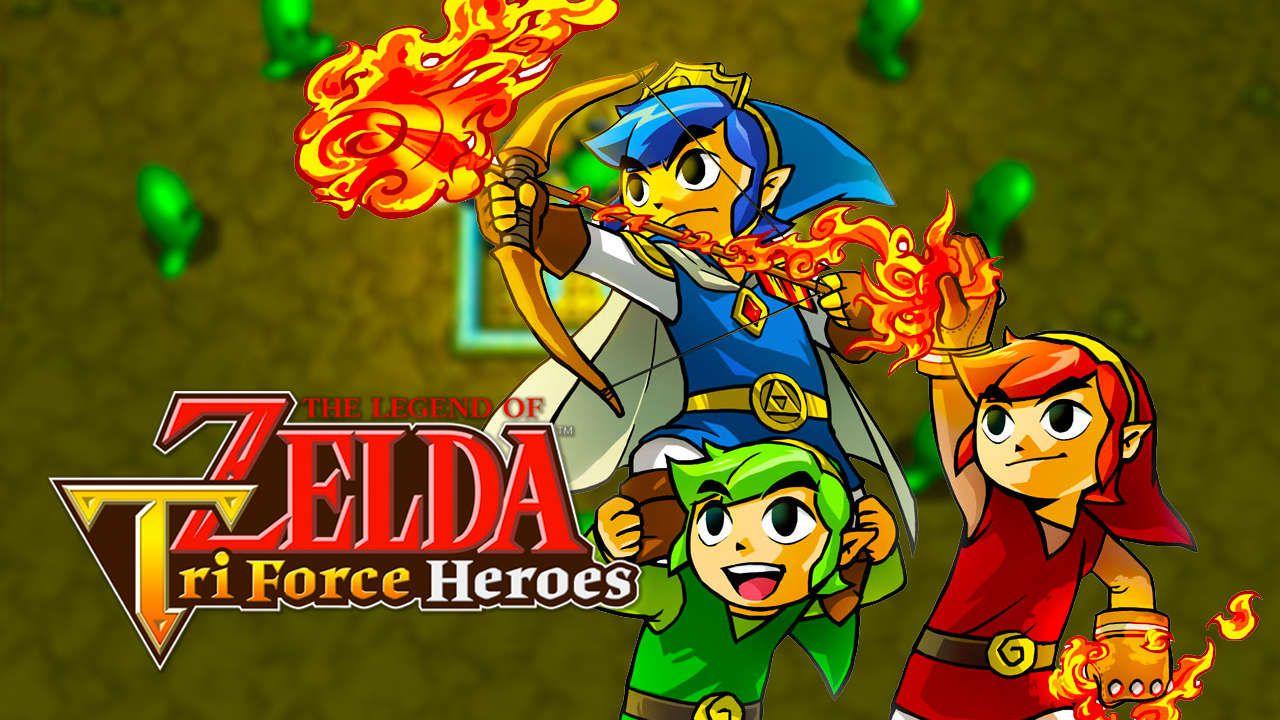 The Legend of Zelda Tri Force Heroes: una battaglia contro il boss Moldorm