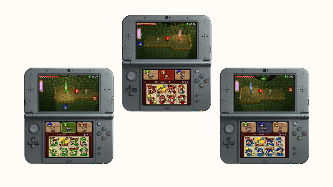 The Legend of Zelda TriForce Heroes arriva in Europa a fine ottobre