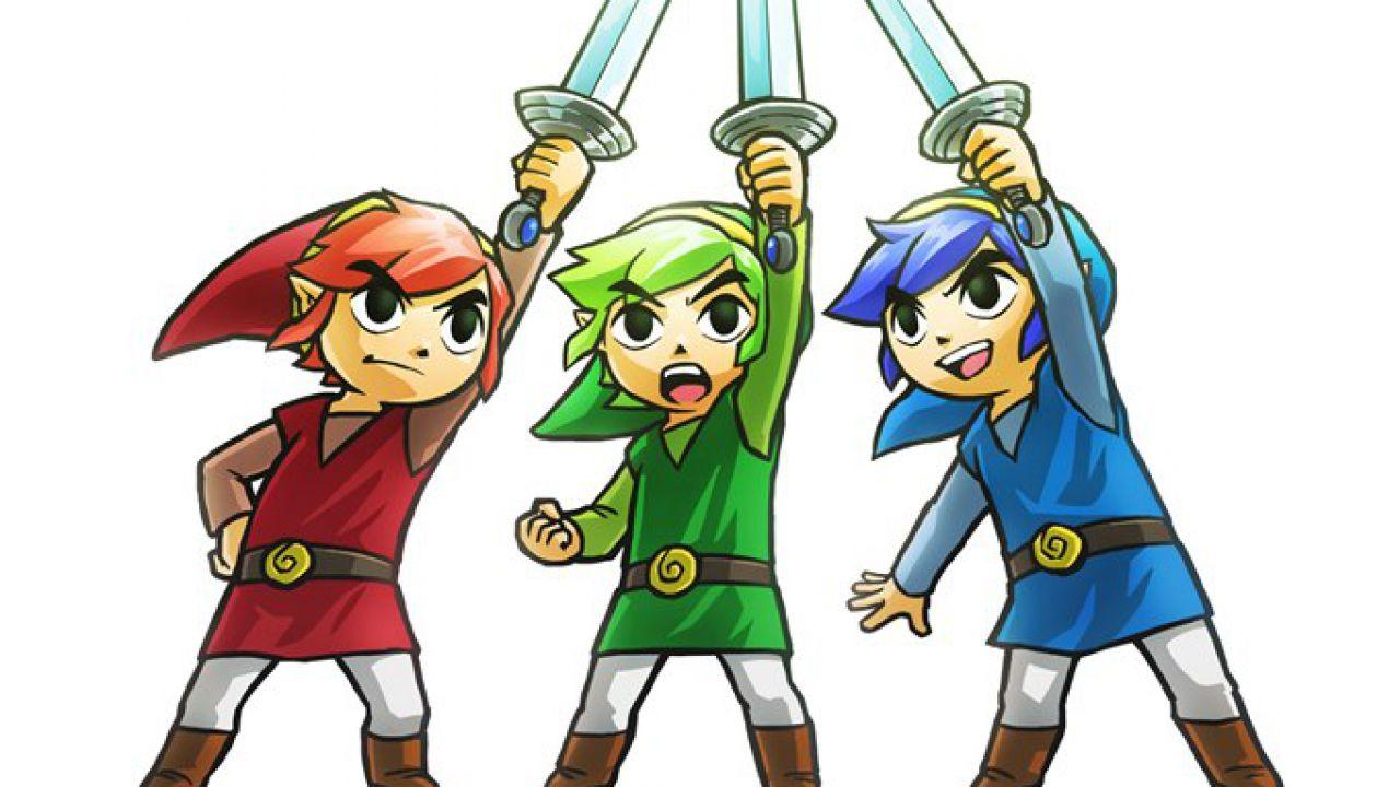 The Legend of Zelda Triforce Heroes non farà parte della timeline della saga