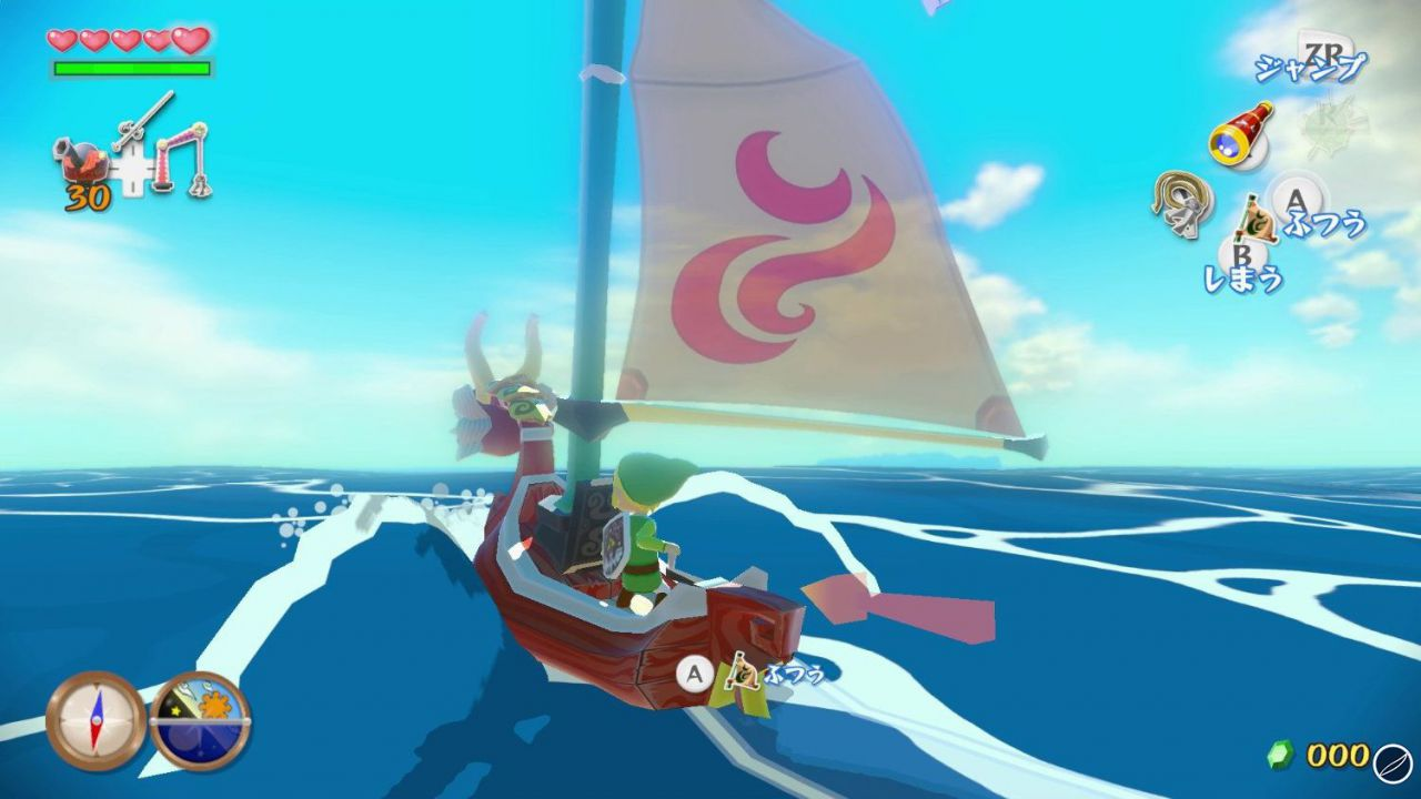 The Legend of Zelda: Wind Waker HD si mostra in un video gameplay