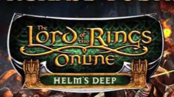 The Lord of the Rings Online: Helm's Deep è finalmente Online