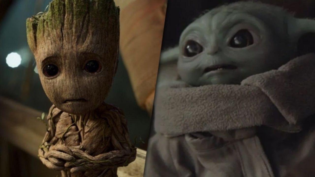 The Mandalorian, una scena con Baby Yoda cita Baby Groot di Guardiani della Galassia