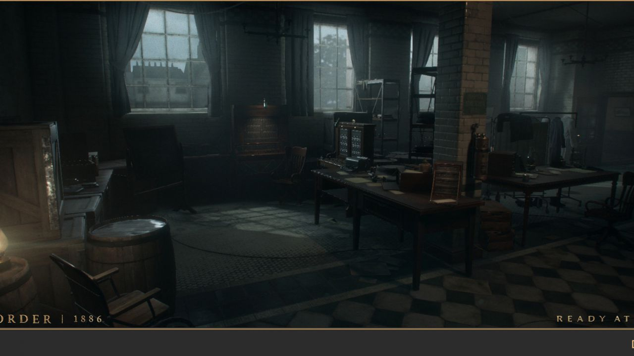 The Order 1886: video gameplay off-screen