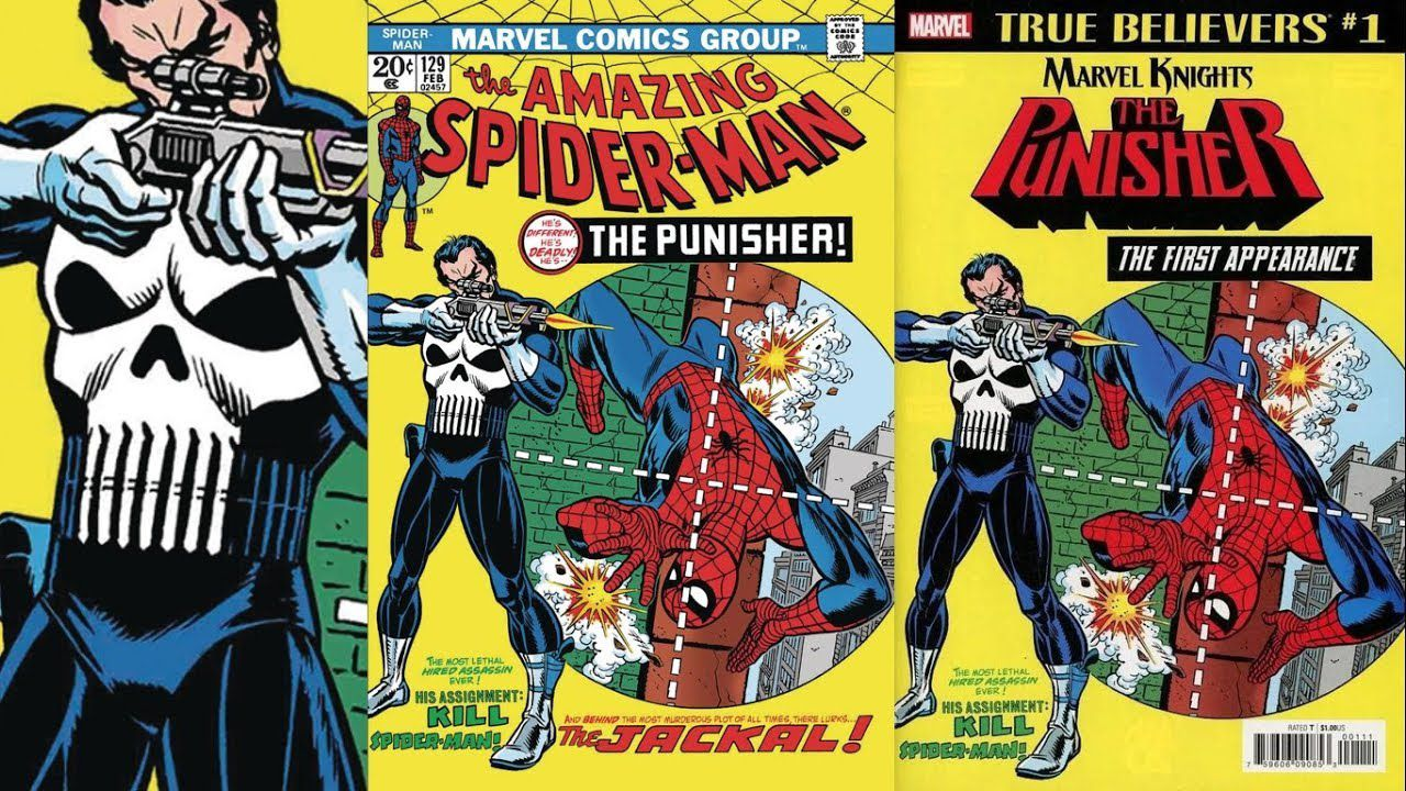 The Punisher: all'asta la Cover del primo fumetto, dal valore di 2 milioni di dollari
