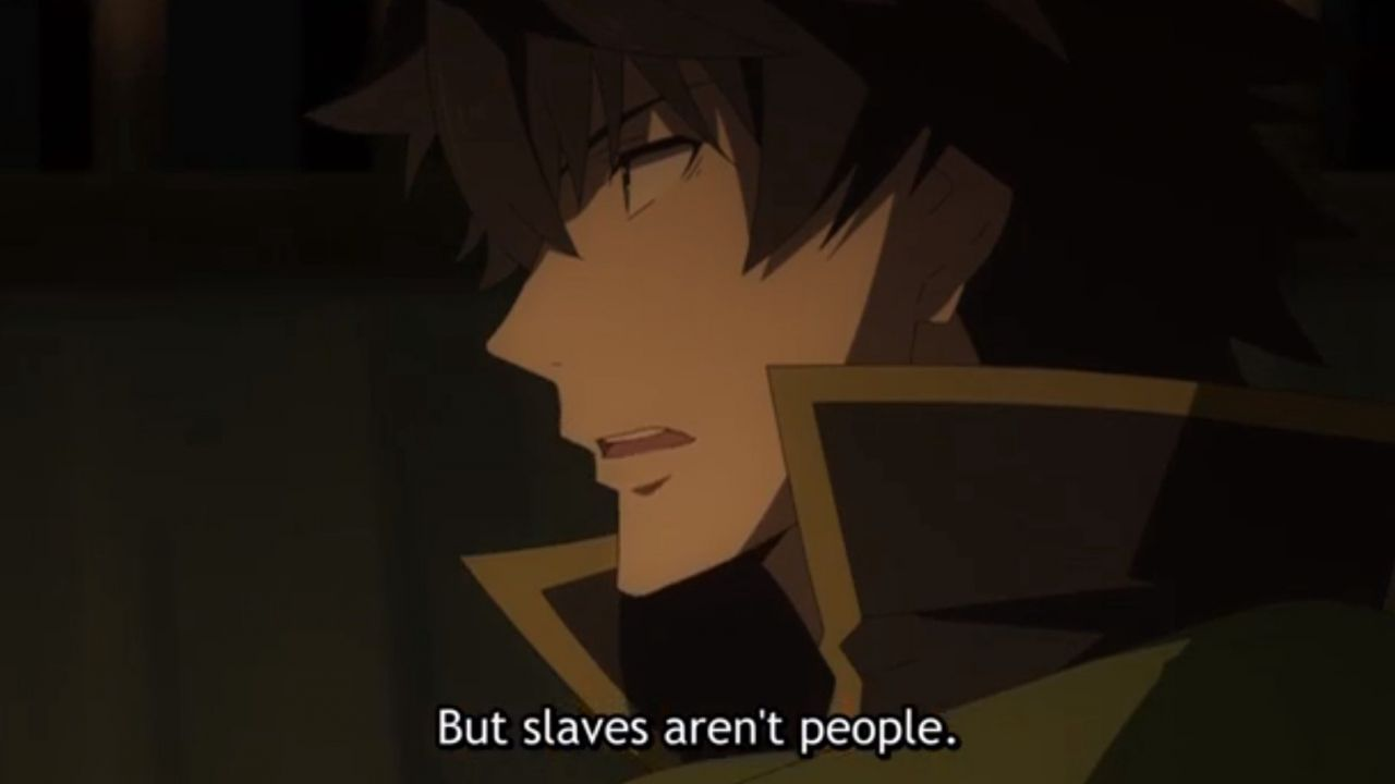 The Rising of the Shield Hero e il problema dello schiavismo, Naofumi è davvero un eroe?