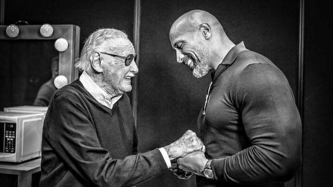 The Rock, il produttore di Black Adam ricorda un momento toccante tra l'attore e Stan Lee