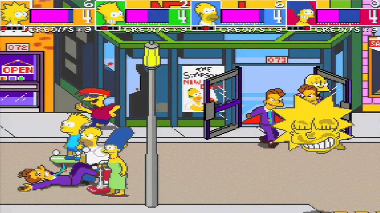 The Simpsons Arcade Game disponibile ora su Xbox Live