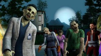 The Sims 3 Supernatural: Fate e Zombie