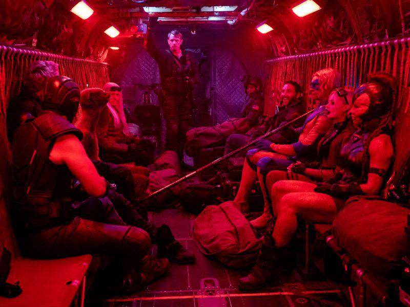 The Suicide Squad: il cast è come una famiglia sul set di James Gunn, ecco le foto
