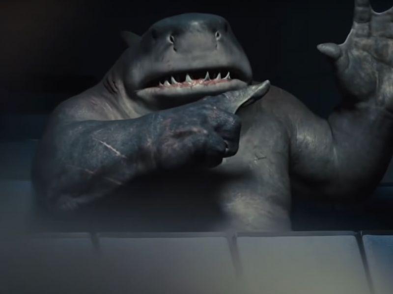 The Suicide Squad, il look di King Shark stava per essere totalmente differente