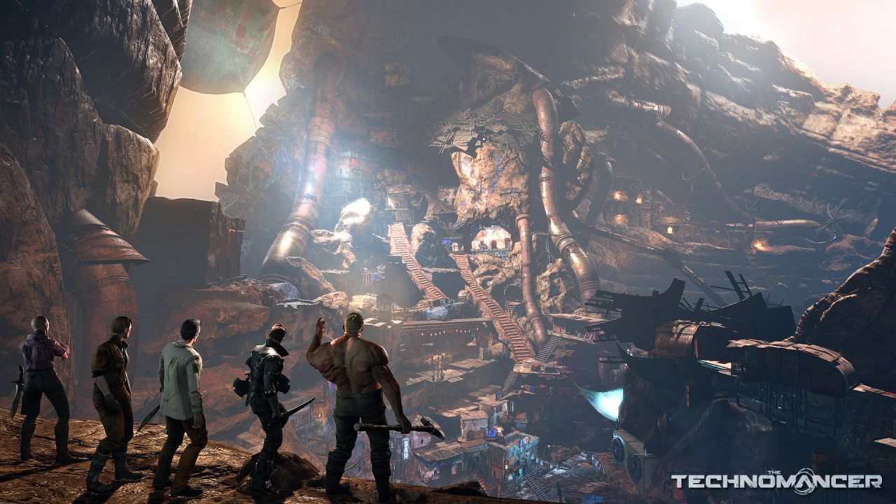 The Technomancer si mostra in un video off-screen