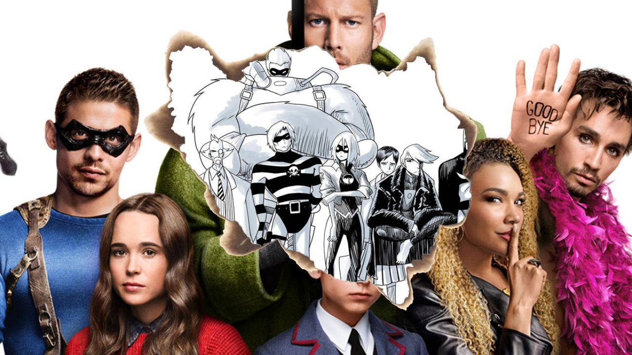 The Umbrella Academy: le differenze rispetto ai fumetti