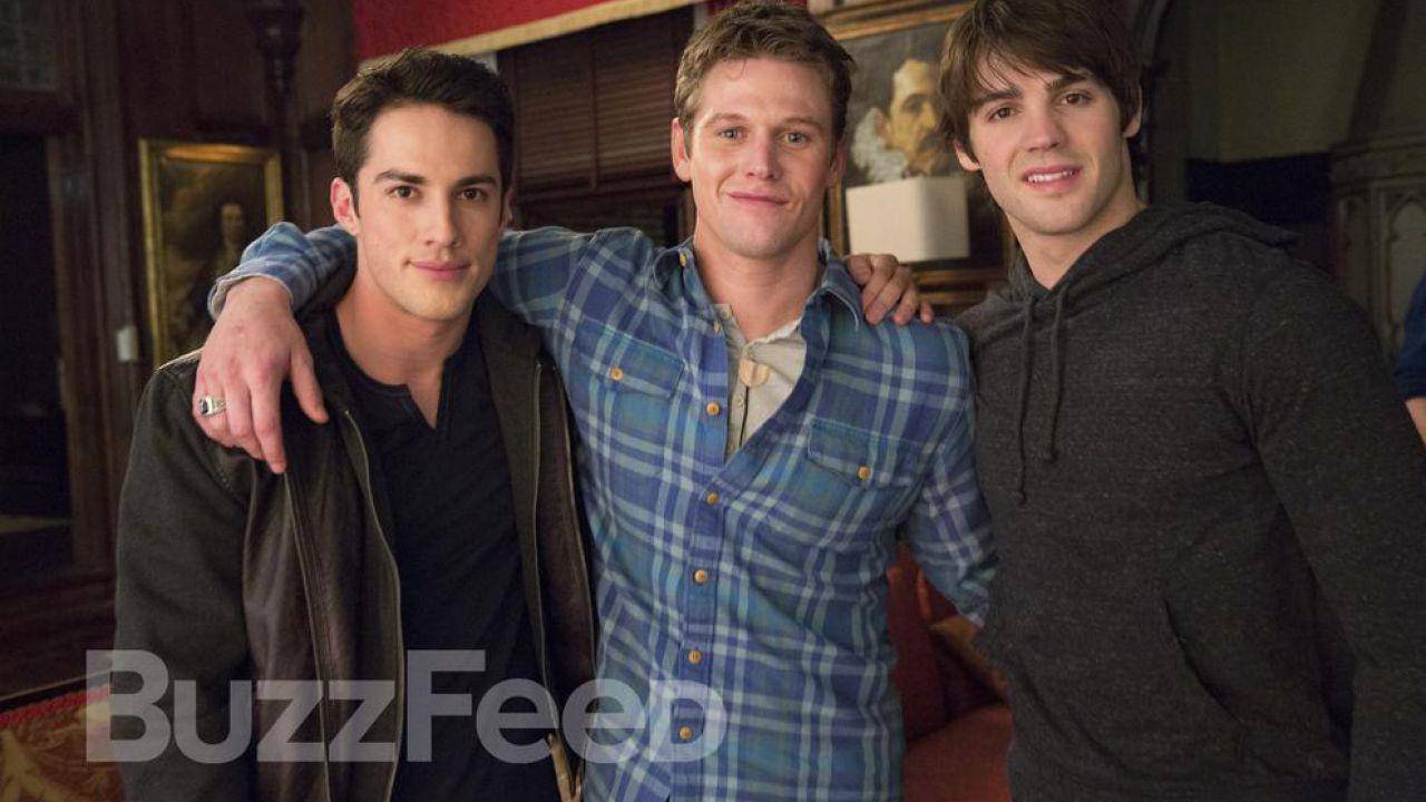 The Vampire Diaries 5: materiale promozionale dal decimo episodio, Fifty Shades of Grayson