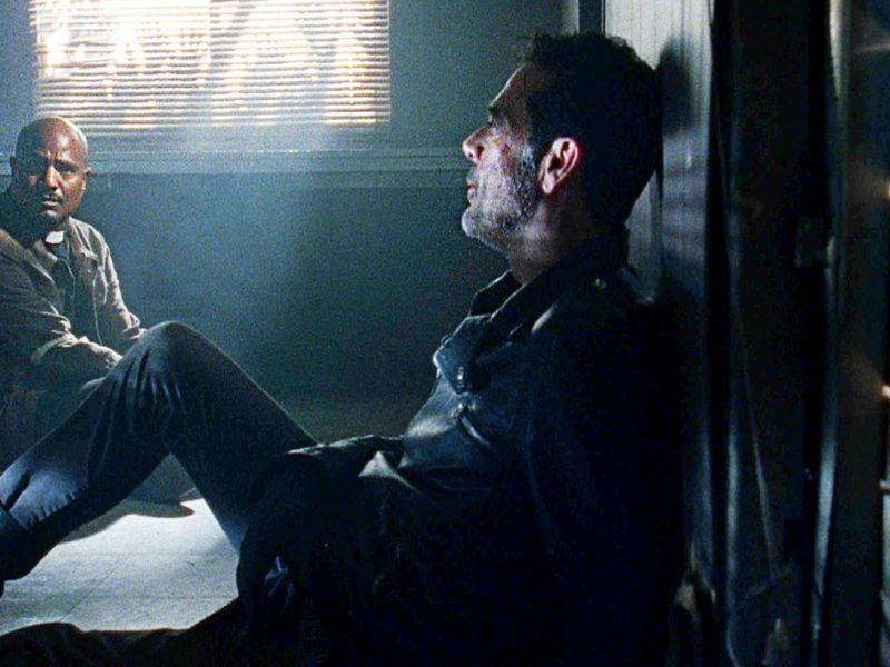 The Walking Dead 11, L'interprete di padre Gabriel: 'Vorrei altre scene con Negan'