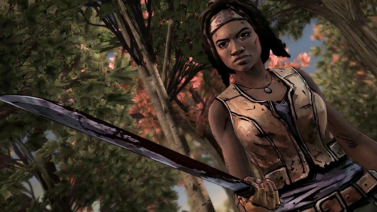 The Walking Dead Michonne: Niente Platino per le versioni PlayStation