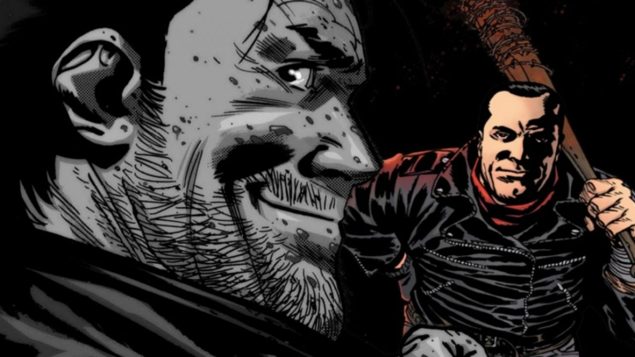 The Walking Dead: Robert Kirkman mostra per la prima volta il fumetto Negan Lives