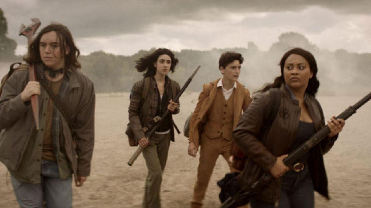 The Walking Dead: World Beyond, Matt Negrete sulla scena post-credit: 'Sarà il delirio'
