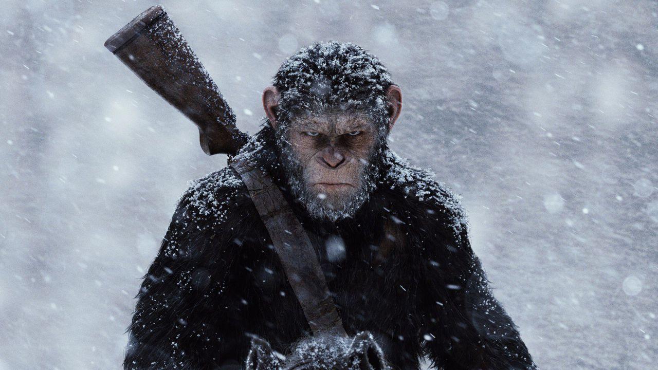 The War - Il pianeta delle scimmie primo al boxoffice con 56 milioni di dollari