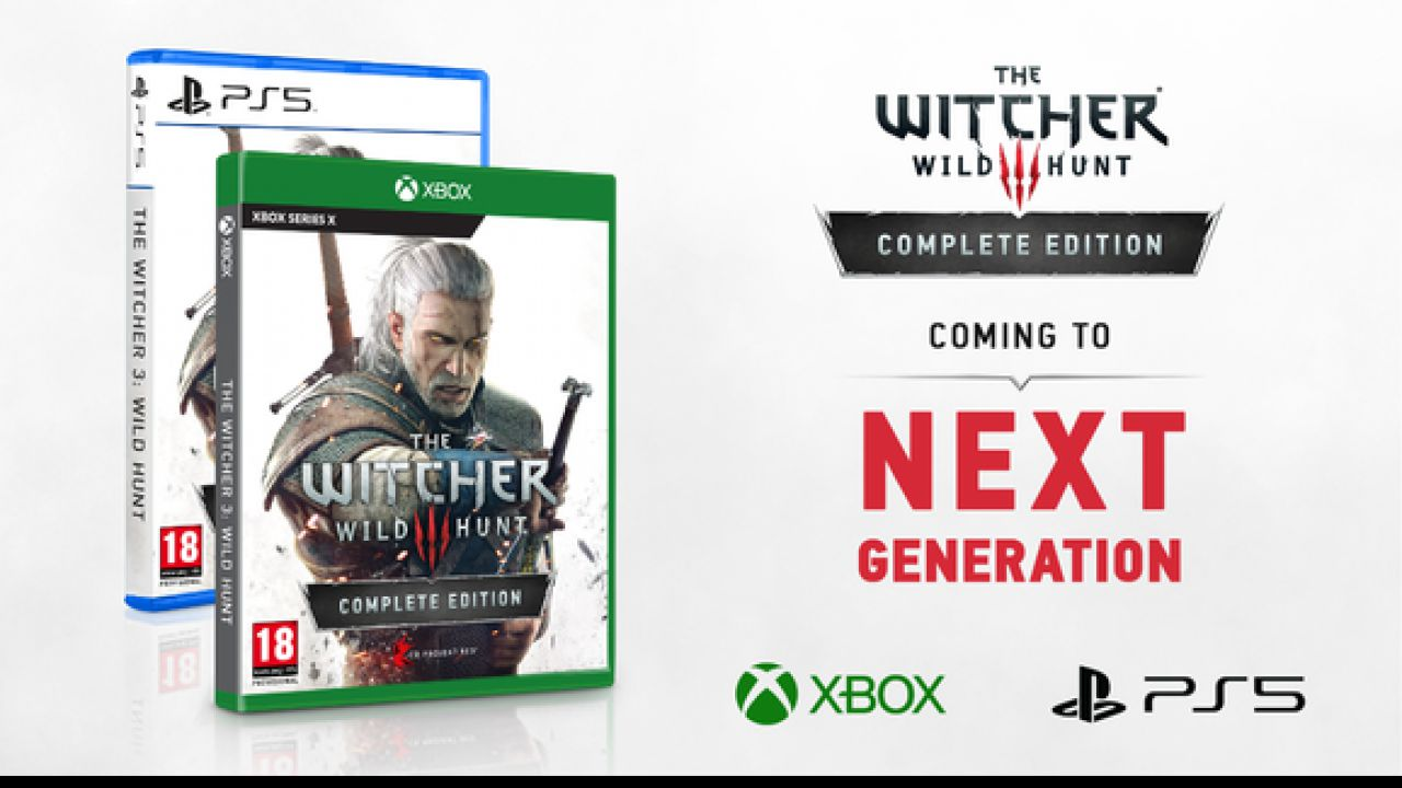 The Witcher 3: Complete Edition é anunciado para Xbox Series X e PS5