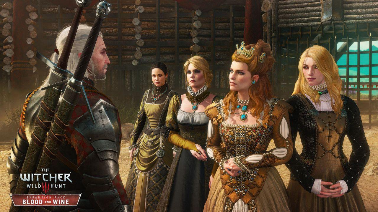 The Witcher 3 Blood & Wine: tema gratuito per PS4