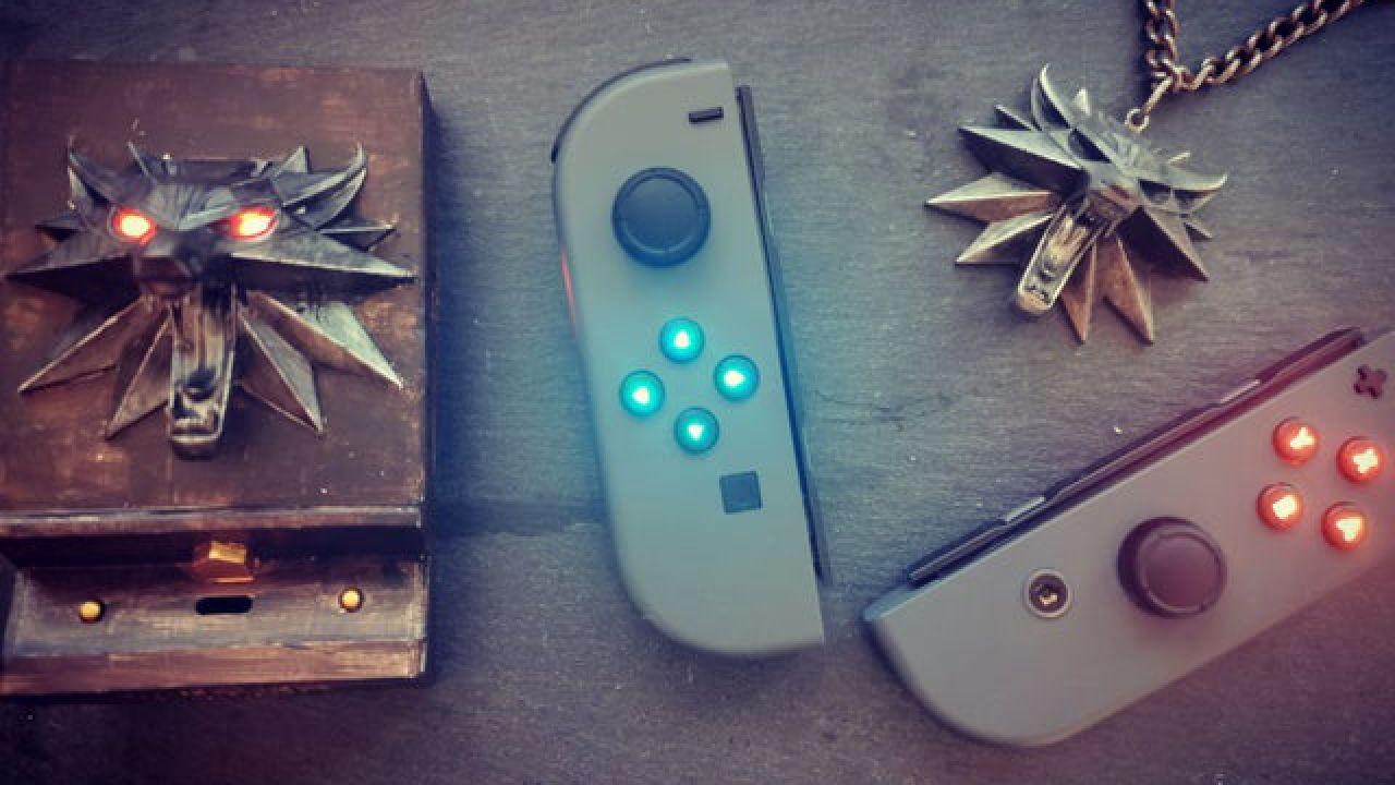 The Witcher 3: creata una Nintendo Switch dedicata al gioco!