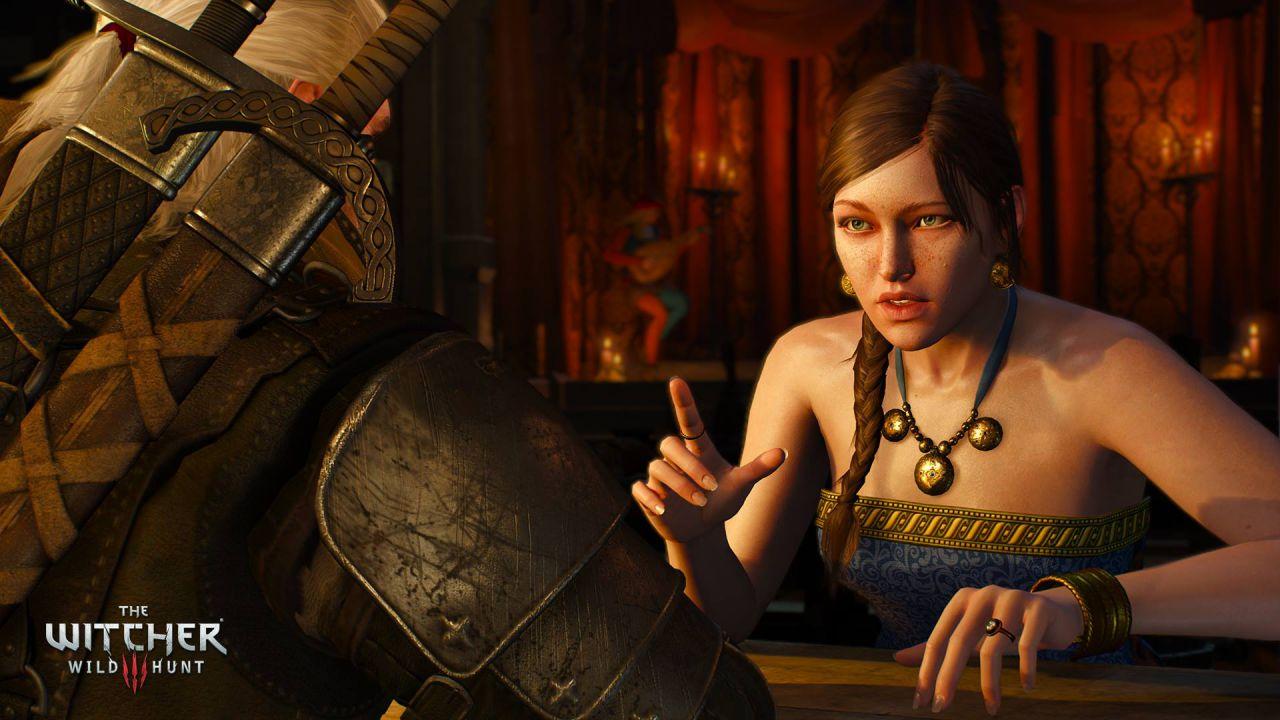The Witcher 3: il DLC con il costume alternativo di Triss arriverà nei prossimi giorni