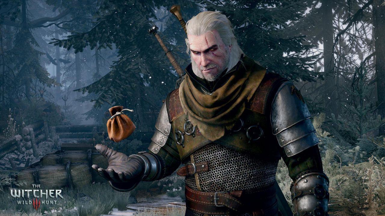 The Witcher 3: immagini della nuova interfaccia
