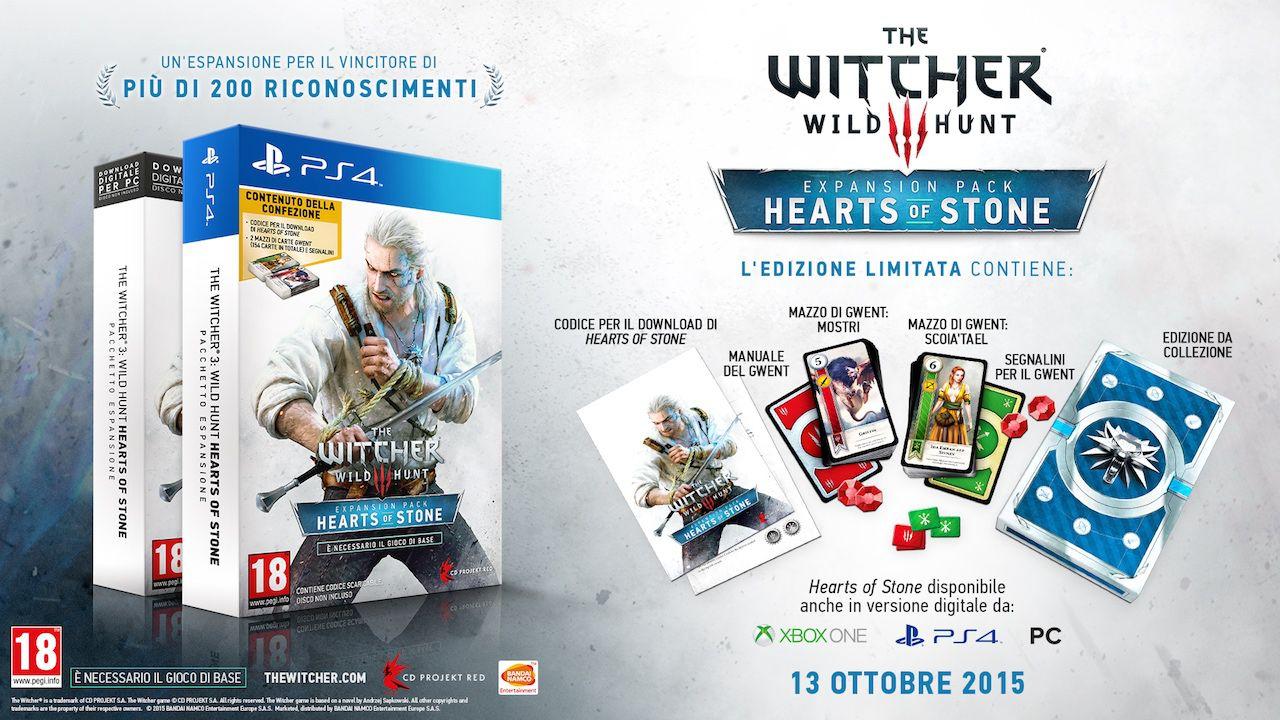 The Witcher 3: in arrivo nuovi dettagli sull'espansione Hearts of Stone