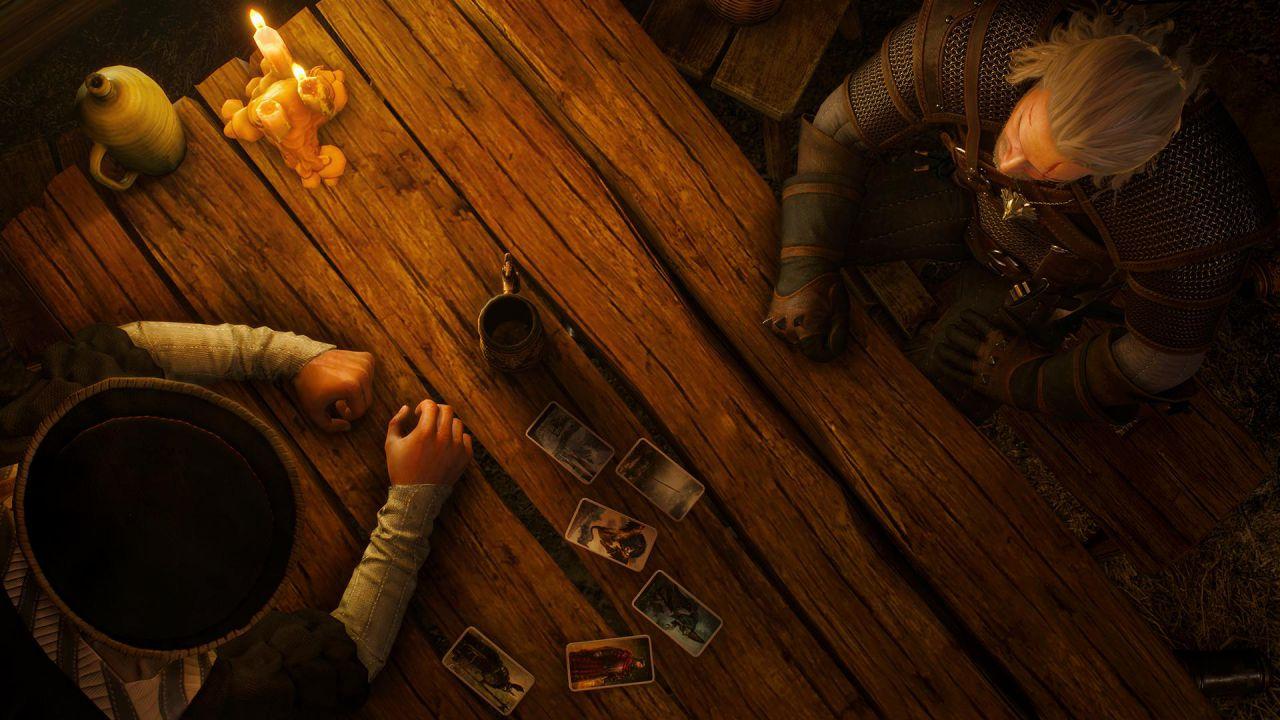 The Witcher 3: In arrivo la patch 1.20 con un libro sul Gwent