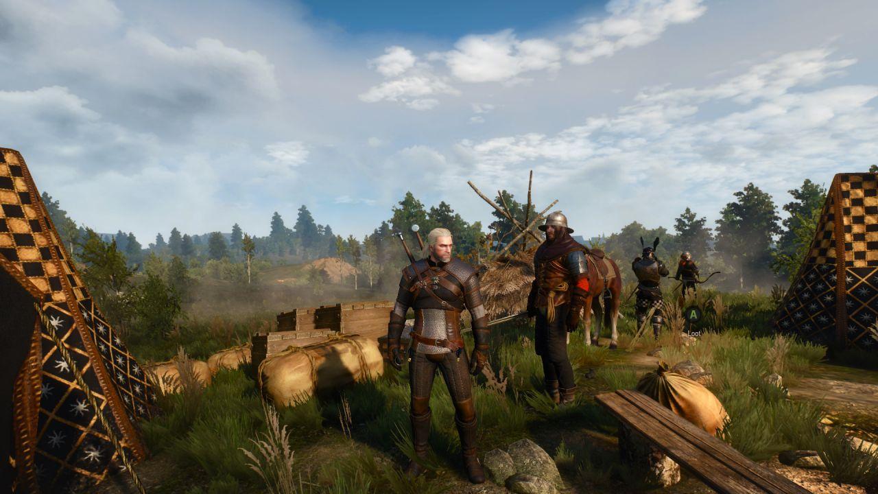 The Witcher 3 per PlayStation 4 si aggiorna con la patch 1.03